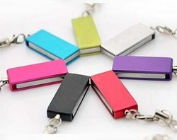 Free Shipping 1GB 2GB 4GB 8GB 16GB 32GB Swivel USB Flash Drive F-H061(China (Mainland))