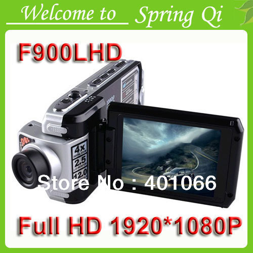 Caldo 2013! F900lhd auto dvr 1080p f900 auto dvr lcd 2.5&#39;&#39; visione notturna automobile&amp;nbsp;scatola&amp;nbsp;nera spedizione gratuita supporto lingua russa