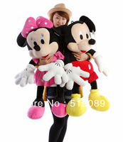 Free Shipping 70cm Hot Sale Lovely Mickey Mouse and Minnie Stuffed Animal Toys Children's Gift Wholesale ,Christmas Gifts