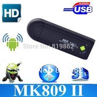 MK809 II TV BOX Android 4.2 Mini PC TV Stick Rockchip RK3066 1.6GHz Cortex A9 Dual core 1GB / 8GB Bluetooth MK809II 3D TV Box