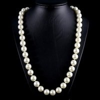 2014 free shipping pearl jewelry  pearl necklace natural 6-7mm women fashion jewelry necklace pearl necklace freshwater evbea