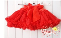 2014 Fashion fluffy pettiskirts girl's tutu skirts  ,mini skirt -wholesale   GQ-097