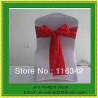 hot sale  Satin Wedding Sashes Bow Party Bridal Decorating /sash for wedding/joy wang's store/chair cover sash