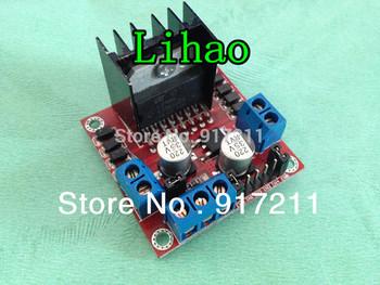 Free shipping 10pcs/lot L298N for arduino Dual H Bridge DC Stepper Motor Drive Controller Board Module