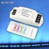 3CH Constant Current Multi-function RGB Controller RF remote LED RGB cotroller DC12V-DC48V LED Controller
