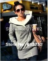 Hot Sale 2014 women hoodies Long sleeve cardigans coat moletom feminino women's hoody sports wear sweatshirt