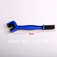 New Blue Motorcycle  Chain Cleaning Brush/Crankset brush Free Shipping