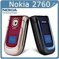 2760 Unlocked Original Nokia 2760 Cell Phone One Year Warranty support russian keyboard russian menu free shipping