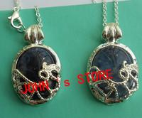 Freeshipping wholesale 20pc a lot Vampire Diaries Katherine Elena Necklace Nature Stone ALN001