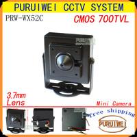 100% Original 1/4''CMOS 700tvl 960H CCTV Security pinhole hidden surveillance mini camera,Free shipping!