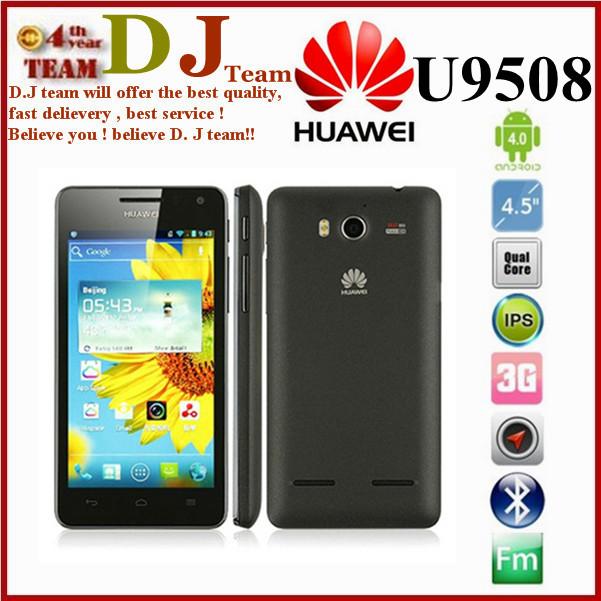 Original Huawei U9508 Unlocked Huawei Honor 2 U9508 Phone Quad Core 1.4G 4.5 inch IPS HD Screen 1280*720 2GB RAM GPS 8MP 1080P(China (Mainland))