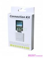 8 Pin USB 5 in 1 Camera Connection Kit SD TF Card Reader Adapter For iPad air  4 5 IPAD MINI 2*100pcs/lot
