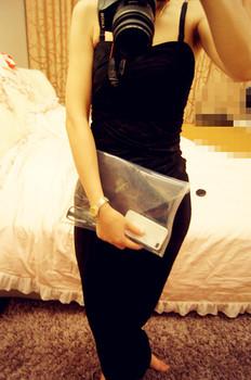 New Summer PVC Transparent handbag  Envelope Clutch bag high quality ipad Clear Color Bag Handbag For Women