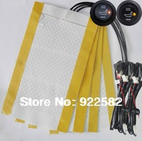 2seats installed /Universal seat heater for all car /carbon fiber heater system/ heating heated pads