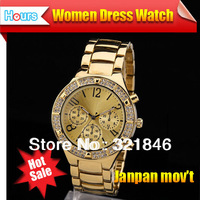 New Arrival 2014 Luxury Rhinestone Watches Ladies Fashion Casual Women Dress Watches Men Quratz Luxury Brand Hot Sale Items