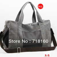 Hot selling canvas large capacity travel bags for men carry on luggage dual function duffle bags sports bag gym free shipping