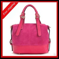 Nubuck cowhide 2013 women's bag fashion bucket women's handbag cross-body shoulder bag Hot-selling
