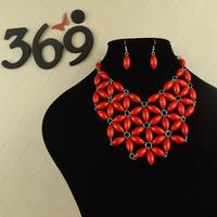 Hot Sale BIB Beads Necklace Statement Necklace wholesale