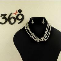 Fashion whloesale new arrival mesh Punk short chain necklace