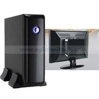 Mini Box PC with Mini ITX Case AMD E350 PC Motherboard, Mini PC 2GB RAM DDR3, 32G SSD HDMI Thin Client PC Linux, USB 3.0 port