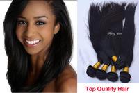 queen weave beauty mocha hair products straight Brazilian Virgin Hair 3pcs/lot  bellami hair extensions Free shipping