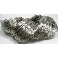 Steel Necklace Memory Wire 11.5CM,  Wire: 1.0mm,  about 250 circles