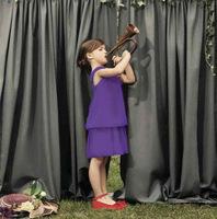 elegant kids dress girls fashion dress children clothing  3T-8T  free shipping