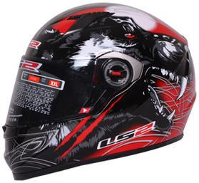 LS2 Motorcycle Helmet FF 358 Racing Helmet DOT ECE NBR Approved 100% New and Original Free shipping(China (Mainland))