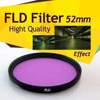 52mm Fluorescent Lens Filter Daylight FLD FL-D Correction for D3100 D5100 D60 Free Shipping