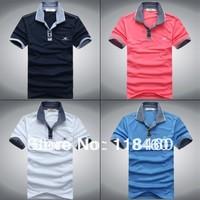 Free Shipping  Male  Fashion  Men's 100%Cotton T Shirt   Short Sleeve T-Shirt
