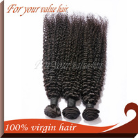 ,Kinky Curly Unprocessed Human Hair Extension,100g/pc Factory Outlet Price