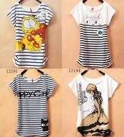 [Magic] 2013 New T Shirt Women tees women type Loose T-shirts Short Sleeve Free Shipping Women's Printed T Shirts 40 models