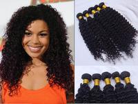 New Star Malaysian Curly hair 3pcs 4 pcs lot Mix Length Rosa hair products bobbi boss Virgin Hair Extension Free Shipping