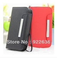 Walllet Leather Case for  thl w8 w6 note 2 n7100 case freeshipping