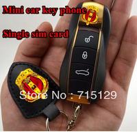 Factory Price Small Mobile Phone Mini Car Key Phone Single Sim Card Micro Cheap Bar Cell Phone Straightforward  Free Shipping