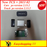 2013Hotsales!!  tcs scanner pro plus with LED cable  Common universal 2013 02 no plastic box for cars and trucks diagnostic tool