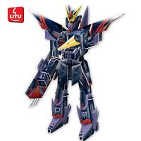 LITU 3D PUZZLE/JIGSAW PUZZLE/TOYS_carton_mobile fighter robot  Style No.5663