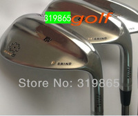 2014 SM5 wedges Golf clubs Golf Wedges clubs set champagne 52/56/60 3pc/Lot  Steel shaft Golf Club With Head Cover Free Shipping