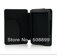 New PU Leather Cover case for Amazon Kindle 4 Black Free Shipping+Dropshipping