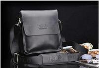Fashion Men Shoulder Bag,Men Genuine PU Leather Messenger Bag,Business Bag,Free Shipping 1320