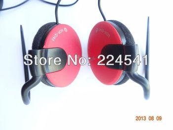 Best Noise Cancelling Clip on Stereo Earphone Ear Hook Headphone for Apple iPhone iPod Sony MP3 P4 PSP DSi