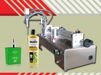 Semi automatic Single nozzle 50-1000ML small bottle liquid filling machine, filling shampoo perfume