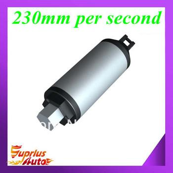 100 mm/ 4 inch stroke,tubular design, 200N high speed in-line linear actuator