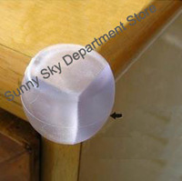 Protect Baby Kids Table Desk Spherical Corner Protector,Children Safe Anticollision Corner Guards,Baby Safe Products~