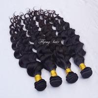 5a Eurasian Loose Deep wave longqi virgin wavy hair 3pcs lot 4 bundles princess hair beautiful queen hair ella hair weave