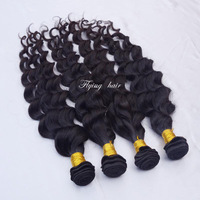 5a Eurasian Loose Deep wave longqi virgin wavy hair 3pcs lot 4 bundles princess hair beautiful queen hair ella hair weave