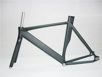 2014 Top Quality 52/54/56CM Smooth Welding Track Bike Fixed Gear Bicycle Frame with Carbon Fork 700C