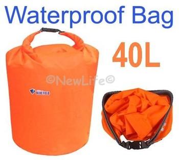 40L Waterproof Dry Bag for Canoe Kayak Rafting Camping Travel Kit 2pcs