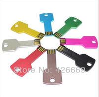 free shipping USB 2.0 Waterproof Key USB Memory Stick Flash Pen Drive Thumb Design 2GB/4GB/8GB/16GB/32GB/64GB