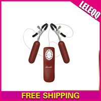 12 Times per Second Vibrating Nipple Clamps, Sex Toy, Jump Egg, Sex Toys For Woman Cheapest, Couple, Free Shipping LA011